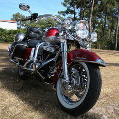 Harley en route