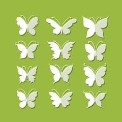 Set of butterflies for your design