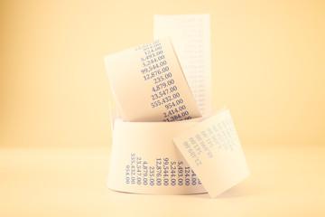 billing paper rolls vintage style