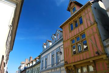 Rue et Maisons à Colobages Troyes Champagne