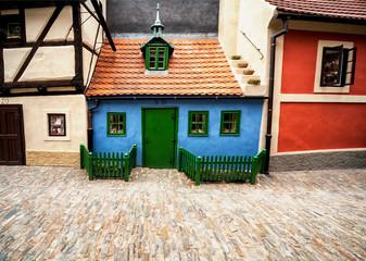 Medieval lane in Prague