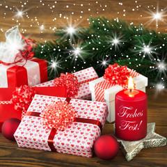 Weihnachten - Dekoration - Geschenke