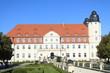 Leinwandbild Motiv Schloss Fleesensee in Mecklenburg