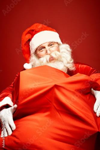 Leinwanddruck Bild Generous Christmas
