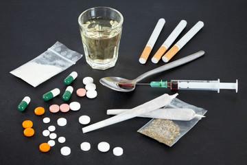 Harte und weiche Drogen
