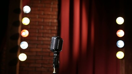 Old-fashion Microphone