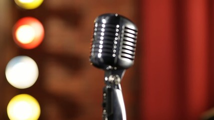 Old-fashion Microphone