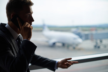 Calling in airport
