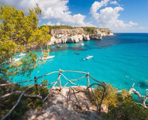 Balcony to mediterranean sea in Cala Macarella