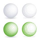 Fototapety Vector golf Ball