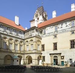 Castle Brandys nad Labem. Renaissance monument, Czech Republic