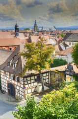 The historic center of Bamberg is UNESCO World Heritage Site