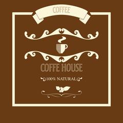 Etichetta per il caffè