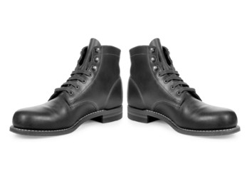 boots isolated on a white background