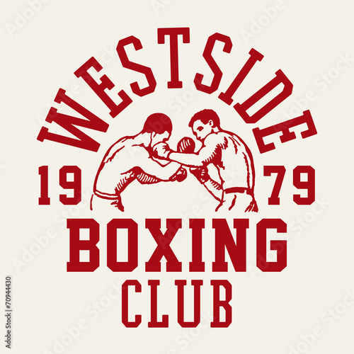 Fototapeta Westside Boxing Club