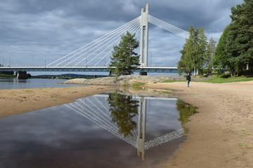 riflesso di ponte