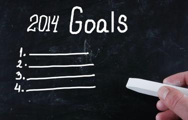 2014 goals concept