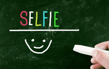 selfie concept