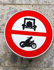ban transit signal in all motor vehicles and cars motorcycles
