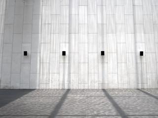bare industrial architecture interior wall