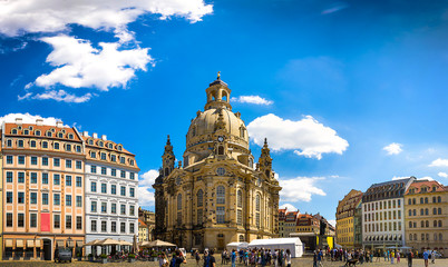 The ancient city of Dresden, Germany.