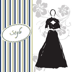 Card style of dress