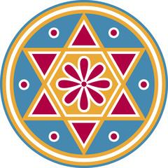 Hexagram, Seal of Solomon, ✡ Magical Symbol