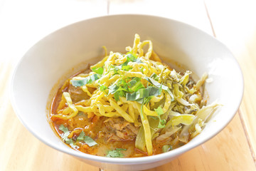 curried noodle soup