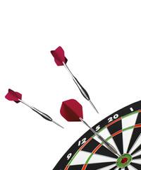 Dart and dart board