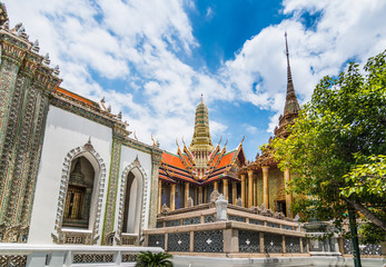 Wat Phra Kaew in daylight