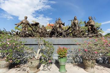 Chinesische Statuen