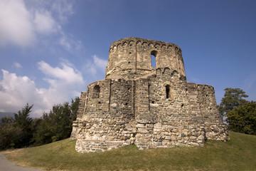 Beautiful old monastery ruin