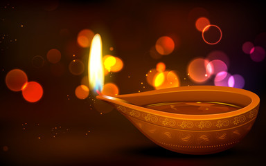 Diwali Holiday background