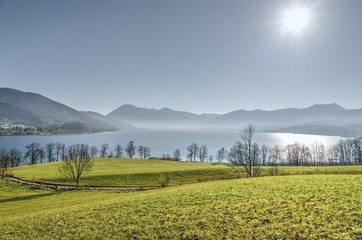 Lake tegernsee, bavaria , Germany