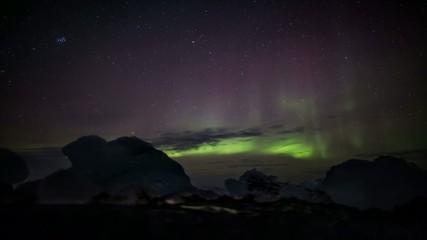Northern Lights (Aurora Borealis) - Arctic, Spitsbergen