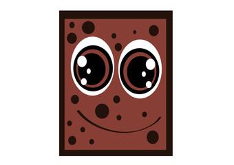 kostka czekolady