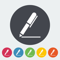 Notes single icon.