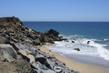 Beach at Point Mugu, Ventura, Southern California
