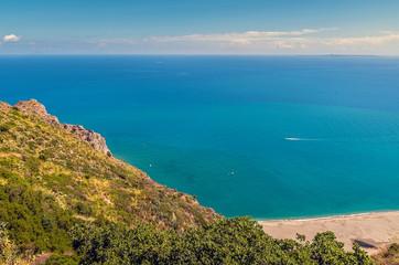 The coast,Tindari,Messina.