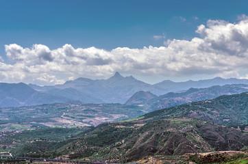 Sicilian landscape.