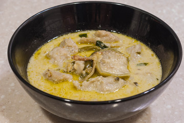 Thai Style Green Curry