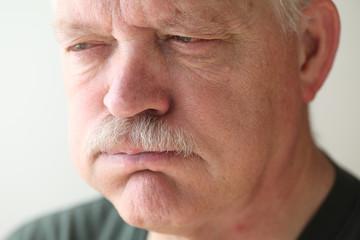 Older man has stomach distress