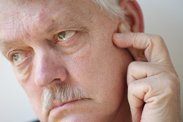 Ear or face pain in older man