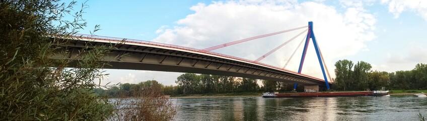 Die Rheinbrücke bei Speyer