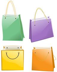 Paper bag for shopping