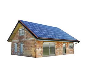 Einfamilienhaus mit Solardach