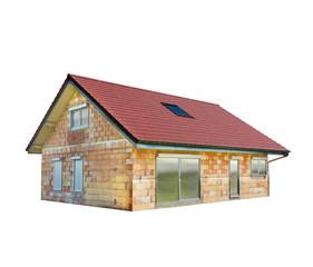 Rohbau - Einfamilienhaus