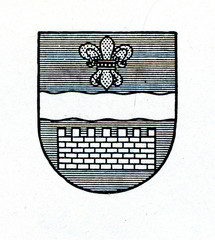 Coat of arms of Daugavpils, Latvia ca. 1930