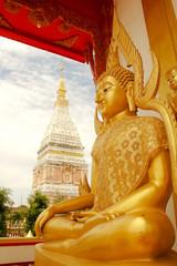 Temple in Renunakhon Nakhonphanom Thailand