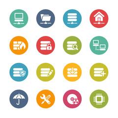 Server Icons -- Fresh Colors Series